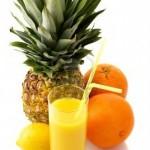 Jugo de Piña, Naranja y limón