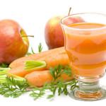 Jugo de Zanahoria y Manzana